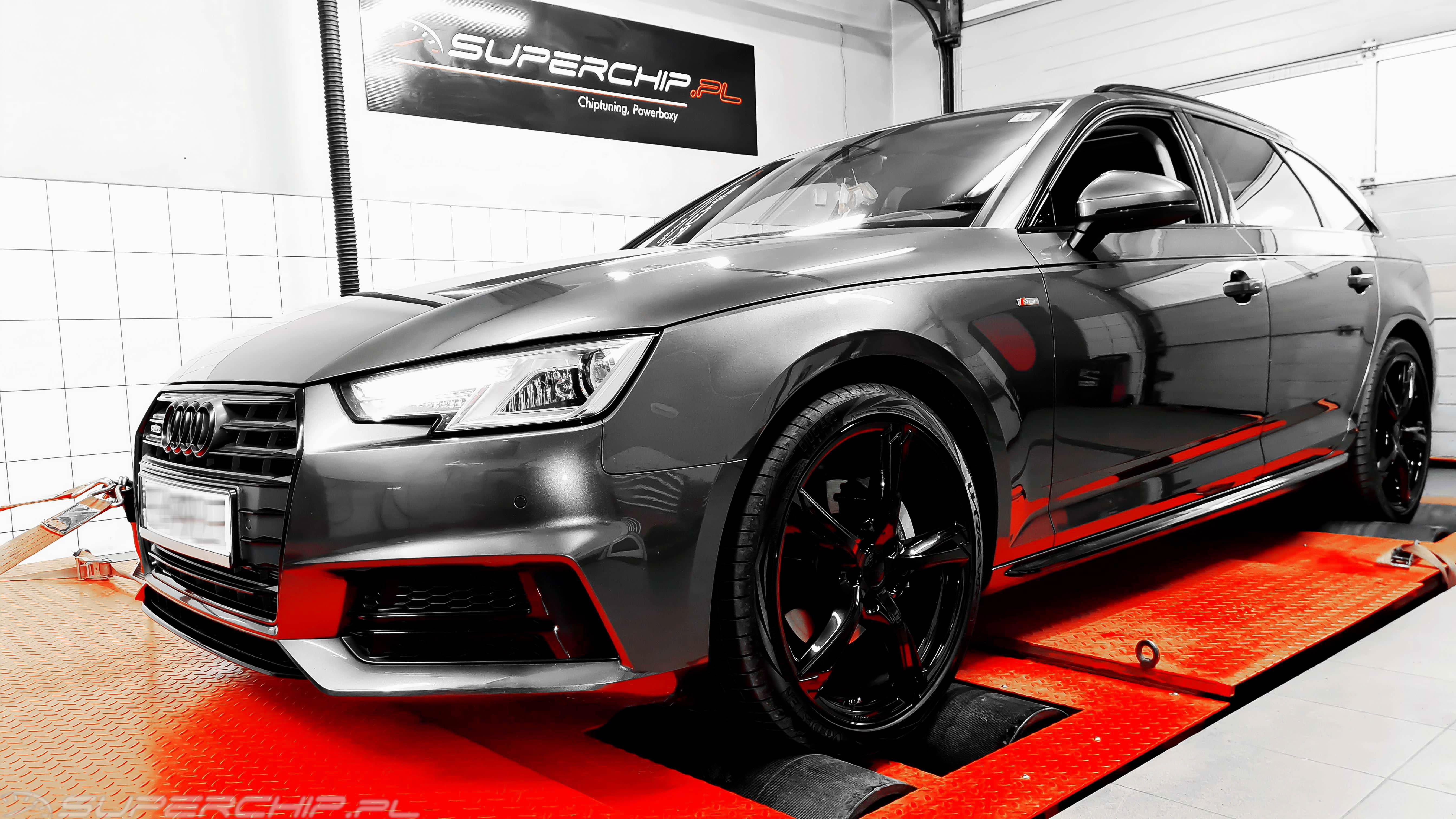 Audi A4 2.0 Tdi 190 ps chiptuning