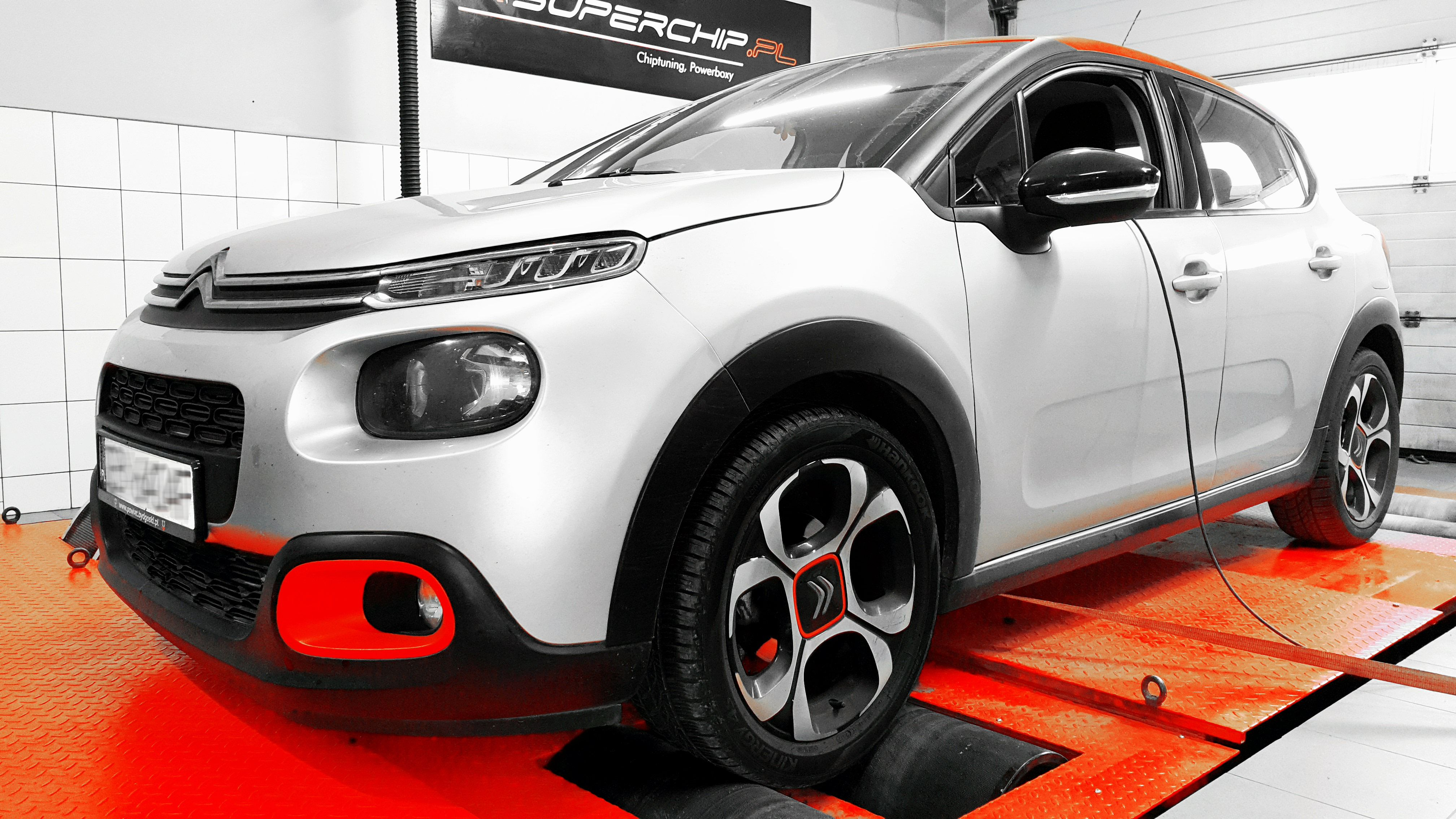 Chiptuning Citroën C3 1.6 75KM