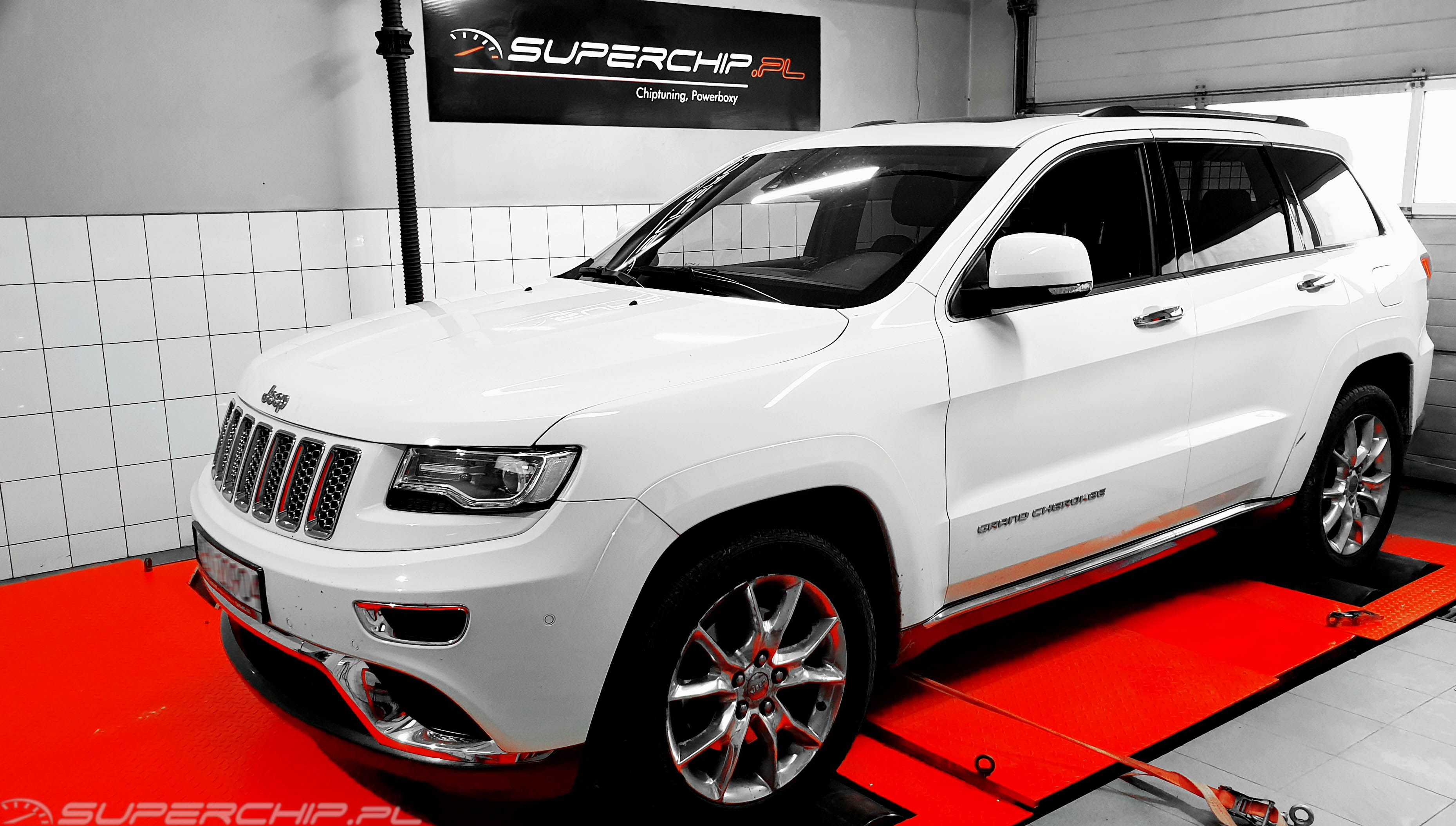 Chip tuning Jeep Grand Cherokee 3.0 CRD 241 KM 177 kW