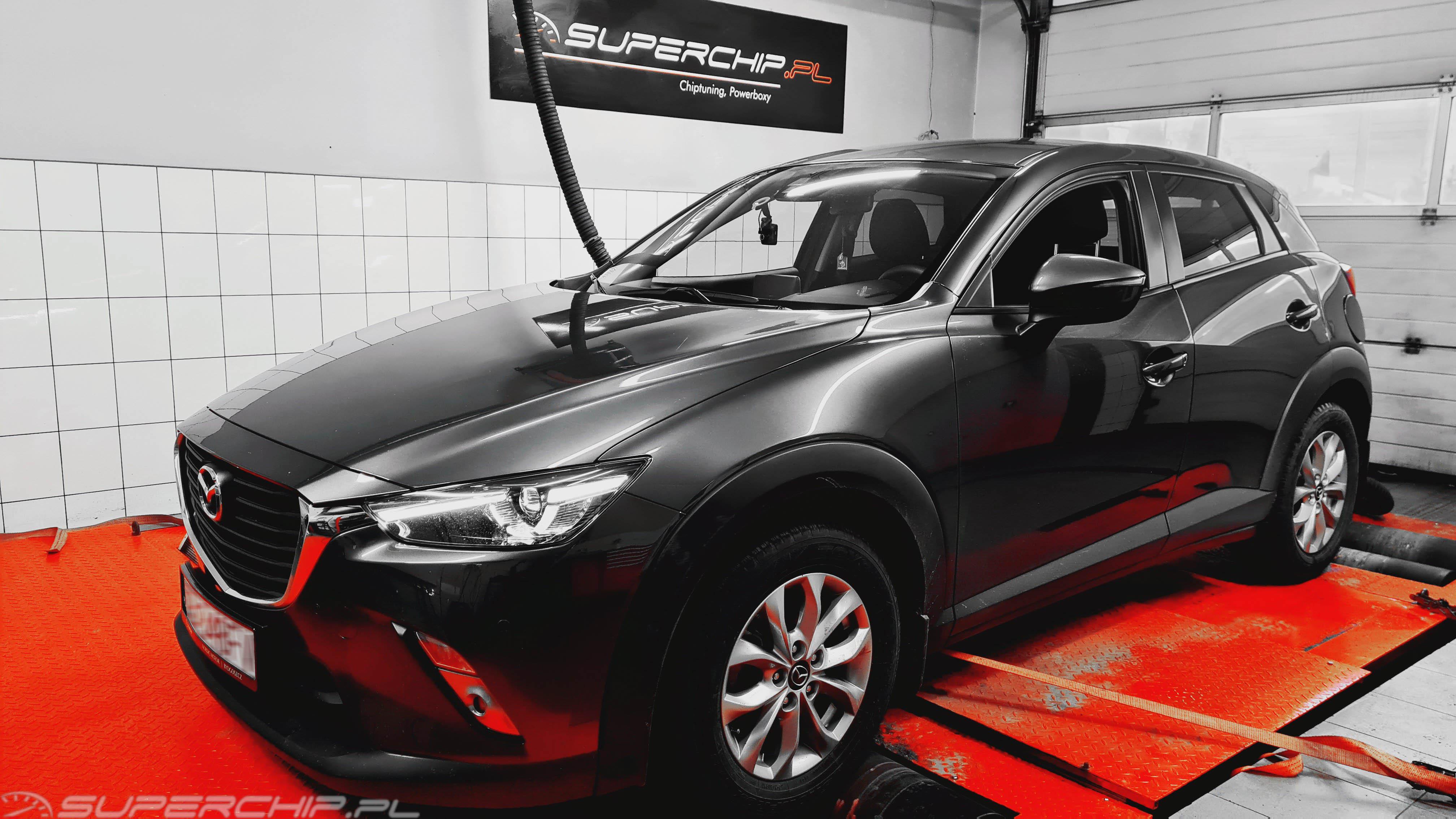 Chip tuning Mazda CX3 2.0 SKY-G 120 KM