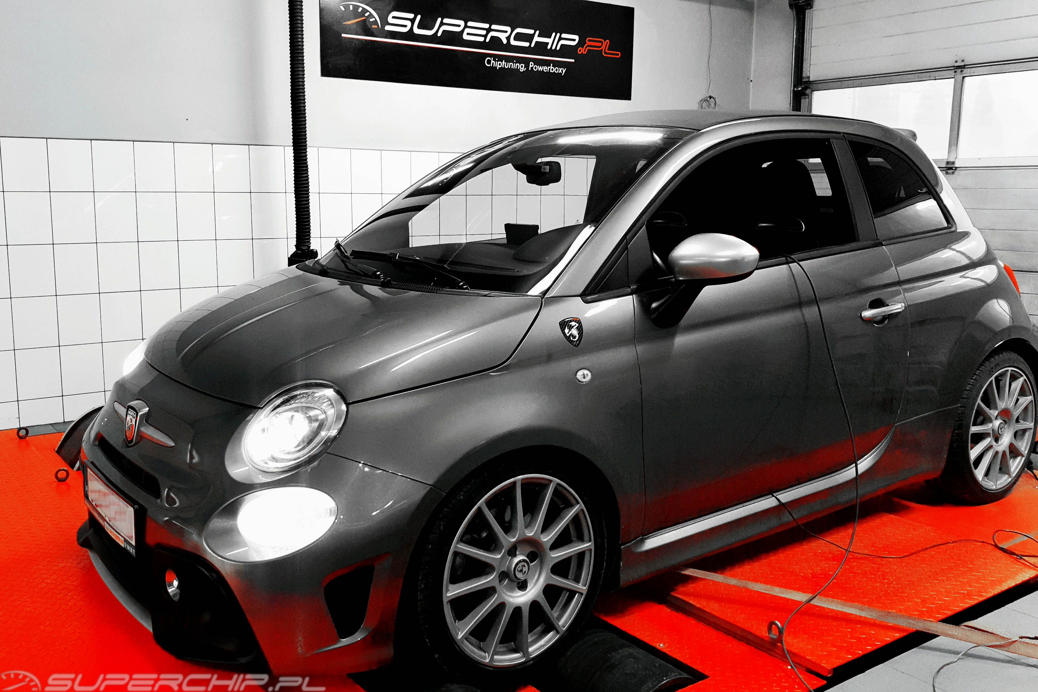 Chiptuning Fiat 500 1.4 T  Chip tuning Abarth