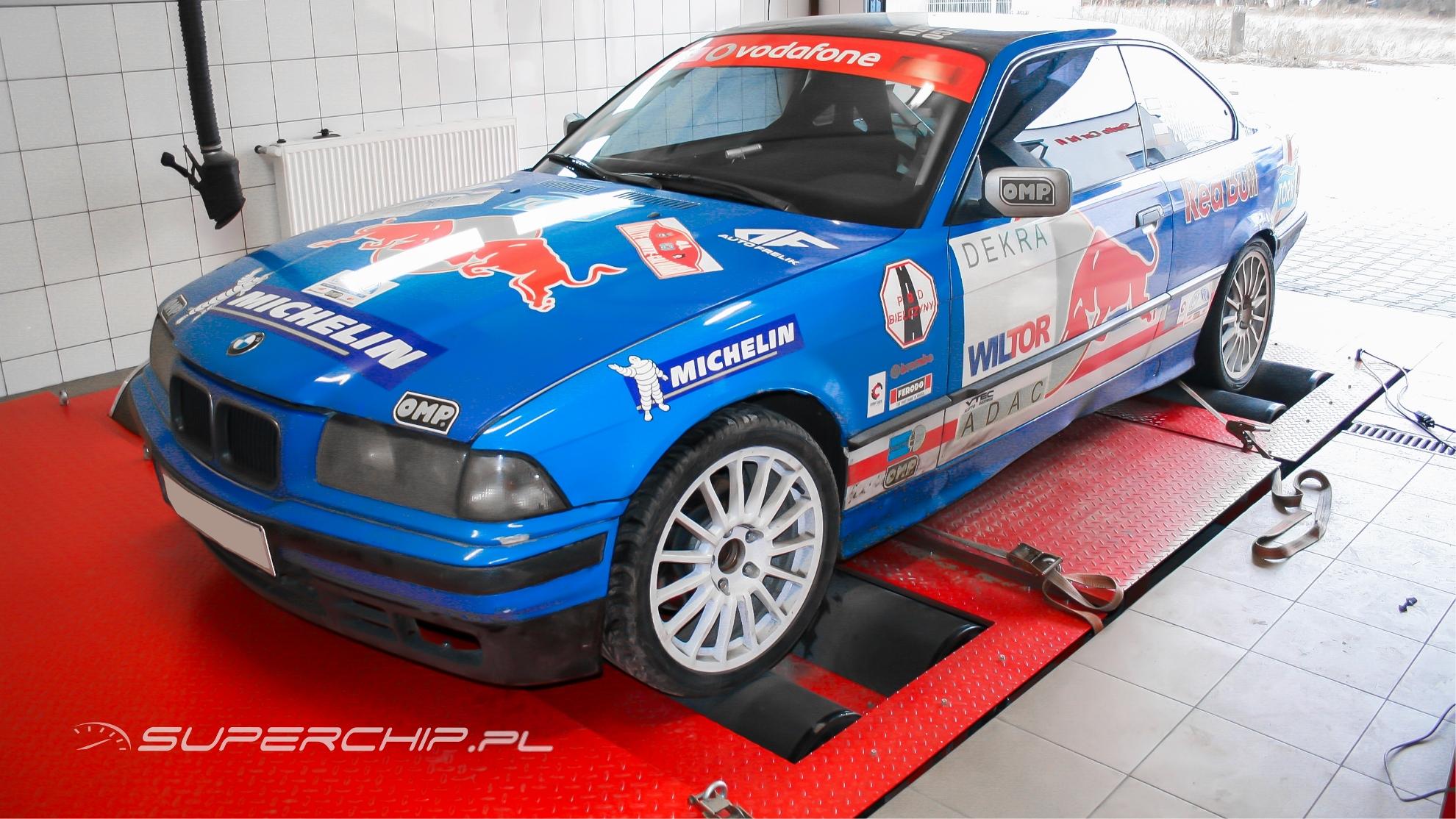 BMW 3 1.8 IS 140 KM - strojenie