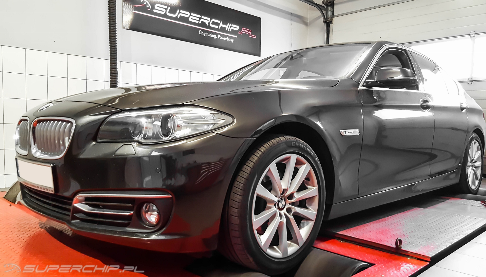 Chip tuning BMW 5 520d 184 KM (+30)