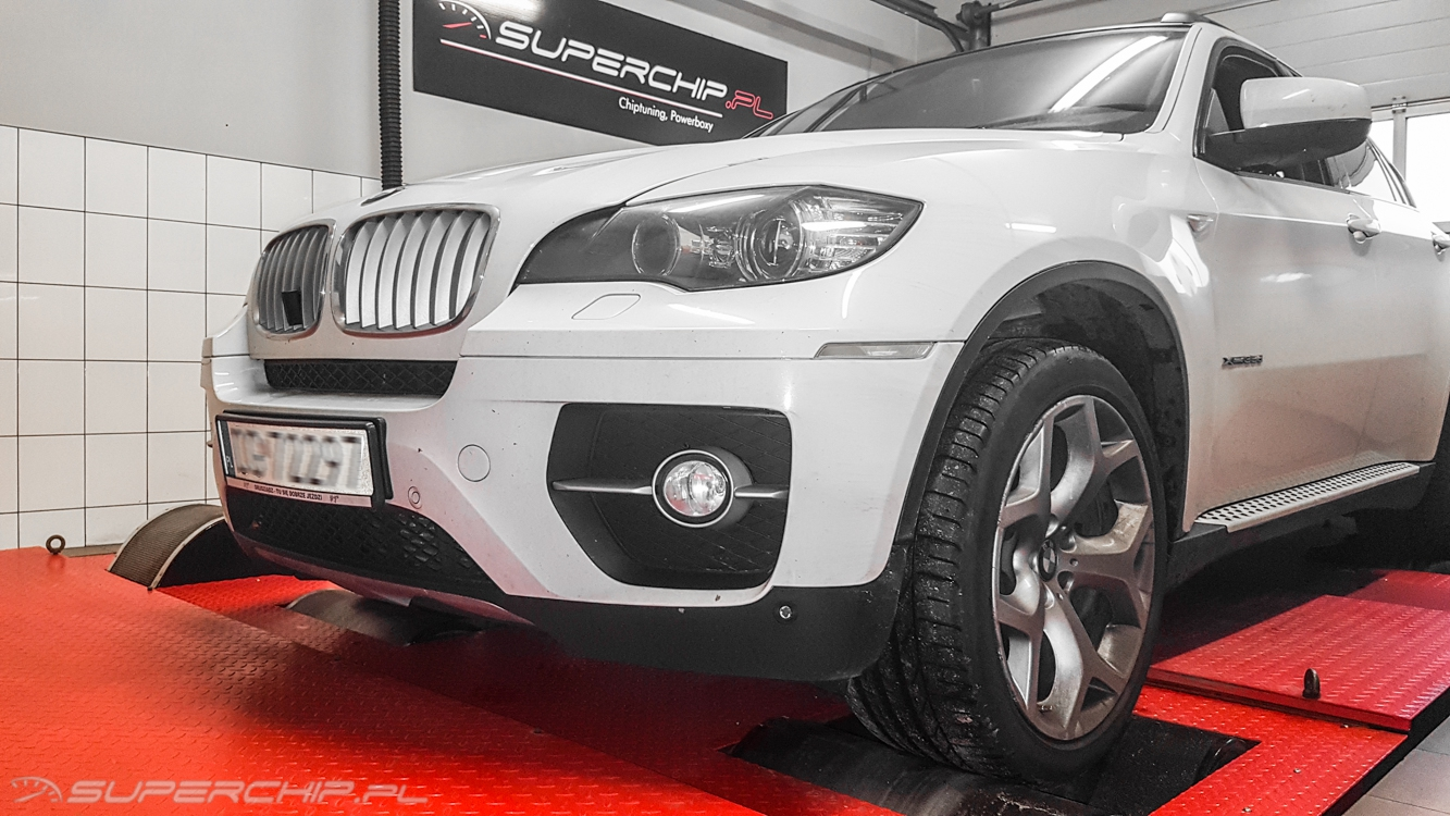 Chip tuning BMW X6 xDrive 35d 286 KM 210 kW