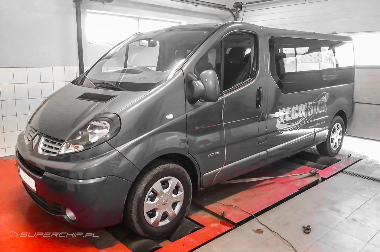 Renault Trafic 2.0 dCi 115 KM   PowerBox
