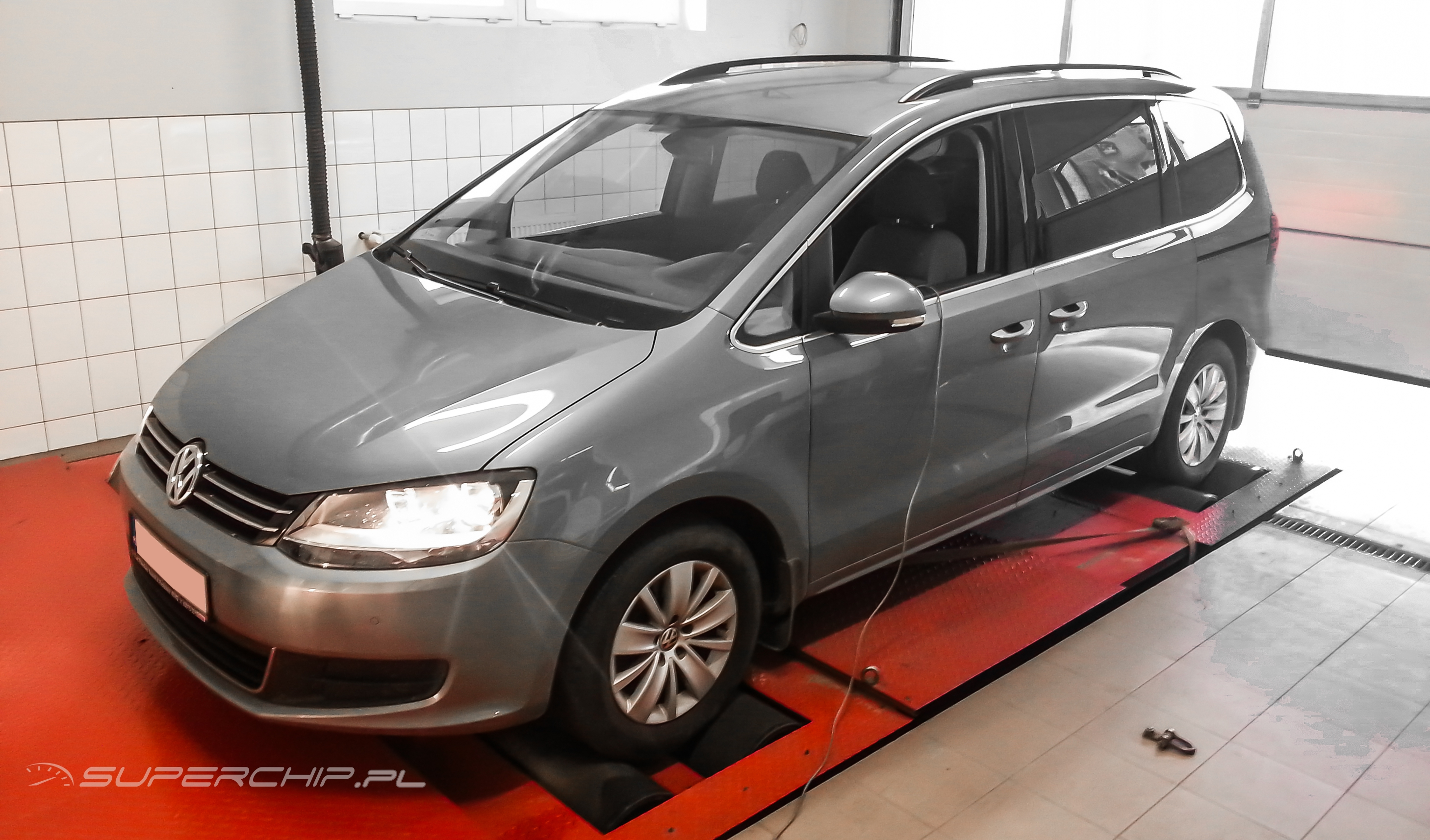 Vw Sharan 2.0 TDI CR 140 KM (+38) ChipTuning