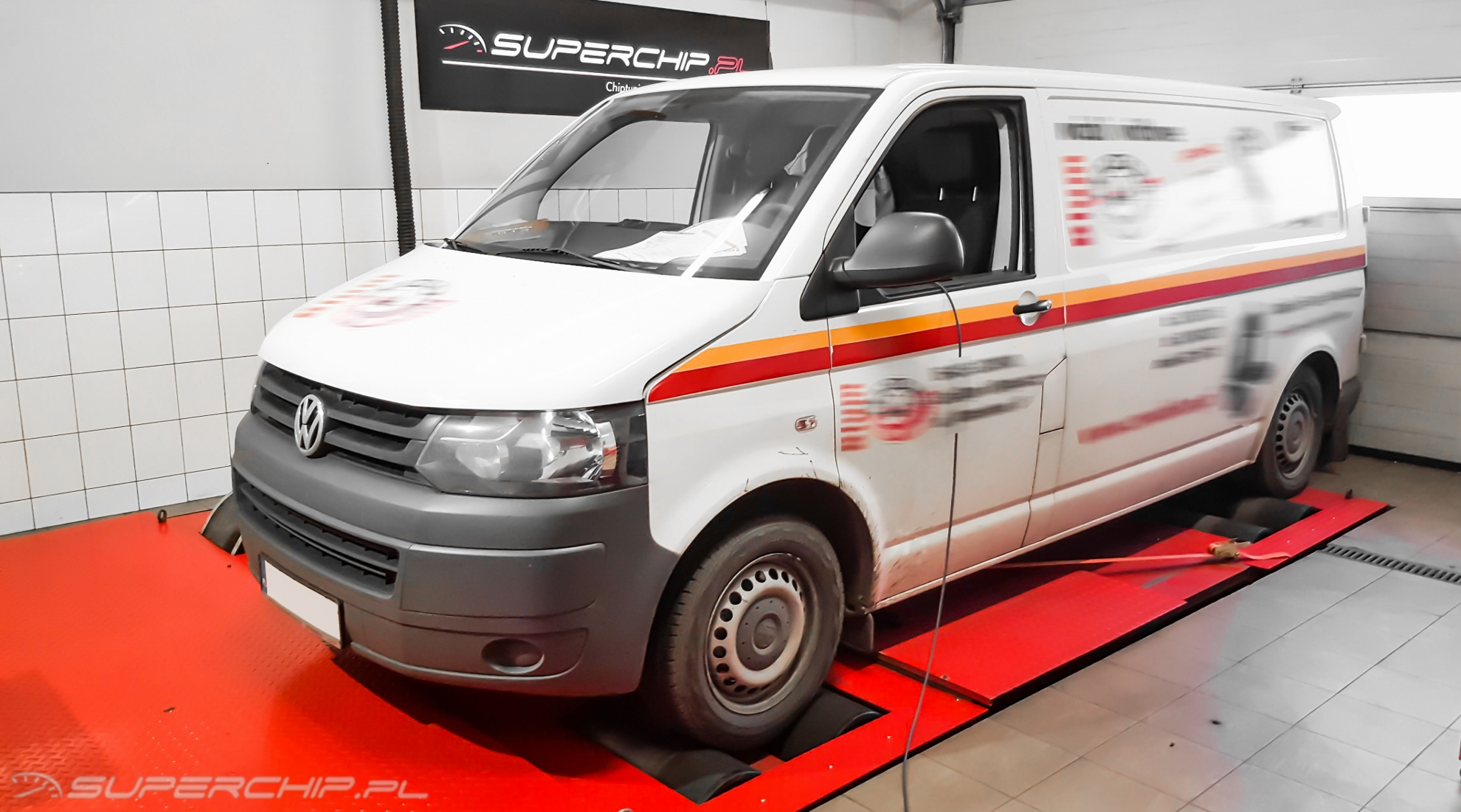 Vw Transporter 2.0 TDI CR 102 KM ChipTuning